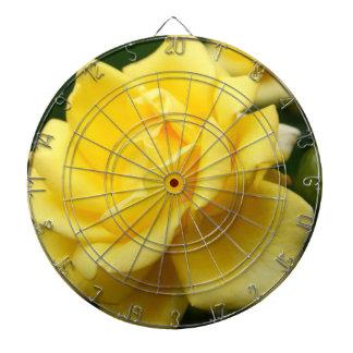 Yellow Rose of Texas Dartboard