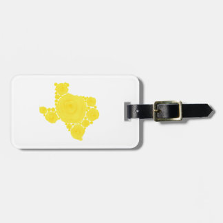 Yellow Rose of Texas Travel Bag Tag