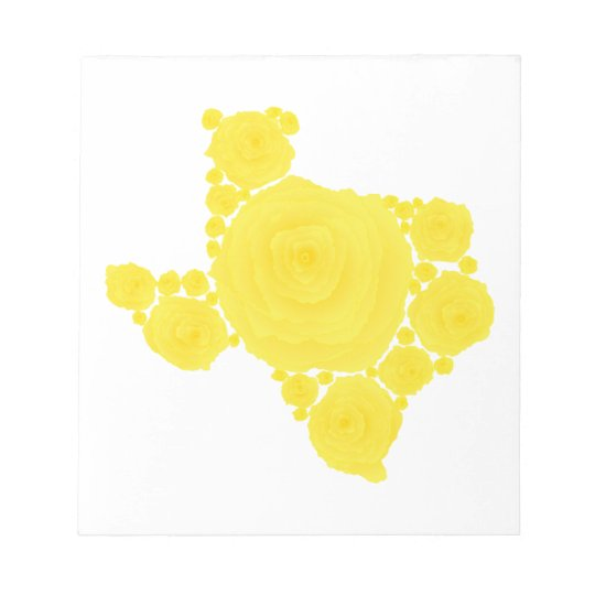 Yellow Rose of Texas Notepad