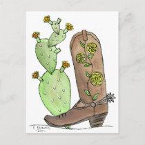 Yellow Rose of Texas Postcard
