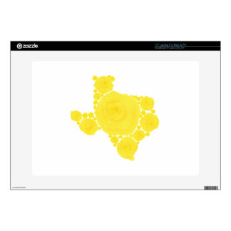 Yellow Rose of Texas Laptop Decals