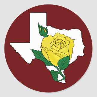 Yellow Rose of Texas Sticker