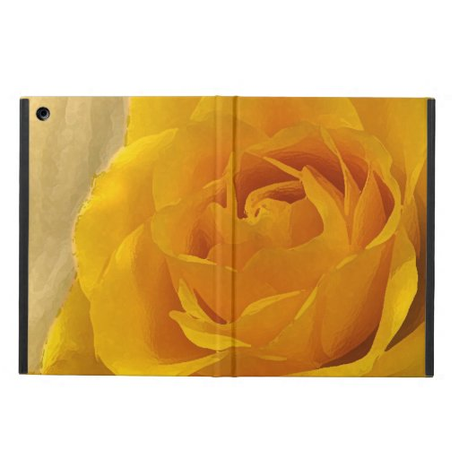 Yellow Rose Petals Case For iPad Air