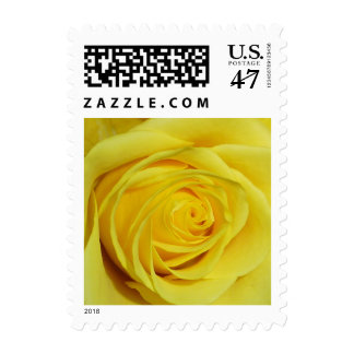 Yellow Rose Photo Wedding Stamp