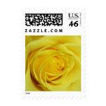 Yellow Rose Photo Wedding Stamp