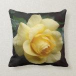 Yellow Rose Pillow