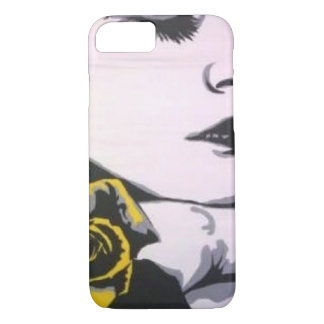 Yellow Rose Pop! painting on a Cell Phone Case