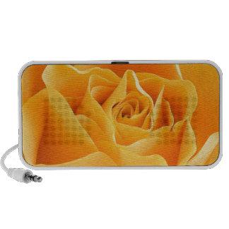 Yellow Rose Portable Speakers