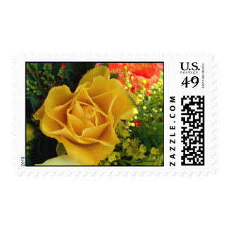 Yellow Rose | Postage