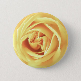 Yellow rose print button