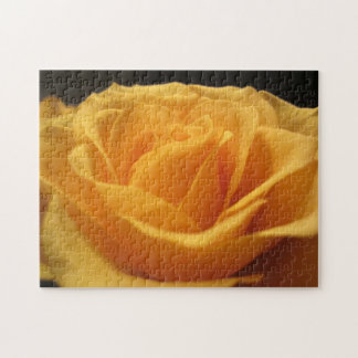 Yellow rose jigsaw puzzles