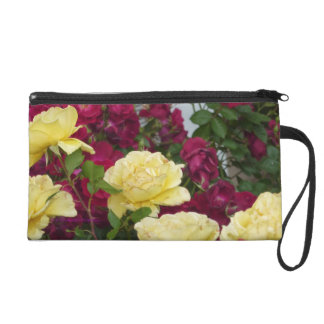 Yellow Rose Ready, Set, Go Wristlet Purse