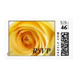Yellow Rose RSVP Postage