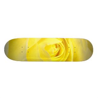 Yellow Rose Skate Board