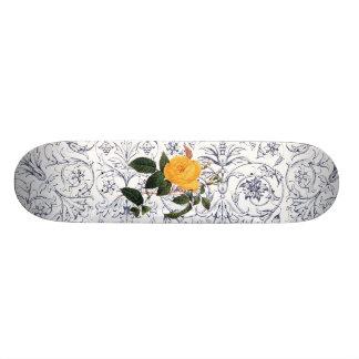 Yellow Rose Skate Deck