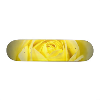 Yellow Rose Custom Skateboard