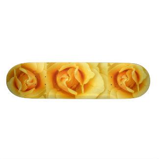 Yellow Rose Skateboard