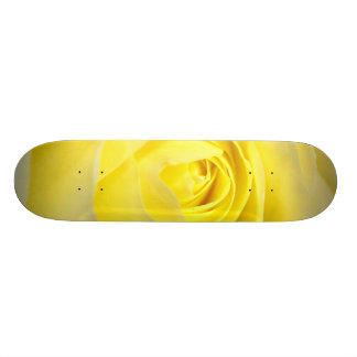 Yellow Rose Skate Board Deck