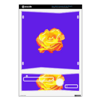 Yellow Rose Skin For The Xbox 360 S