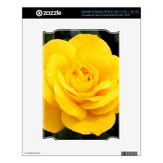 Yellow Rose Decals For NOOK