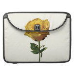 Yellow Rose Sleeves For MacBook Pro
