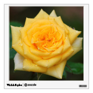 Yellow Rose Wall Decal