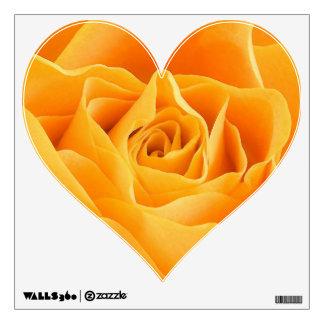 Yellow Rose Wall Sticker