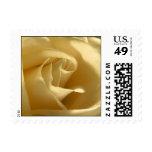 Yellow Rose Wedding Postage Stamp