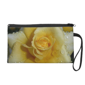 Yellow Rose Wristlet