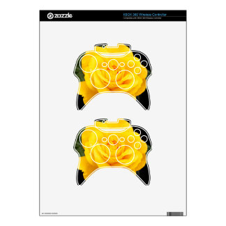 Yellow Rose Xbox 360 Controller Skins