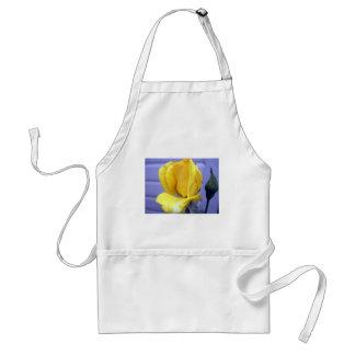 Yellow Rosebud Adult Apron