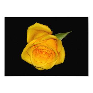 Yellow Rosebud Card