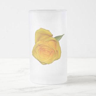 Yellow Rosebud Mugs