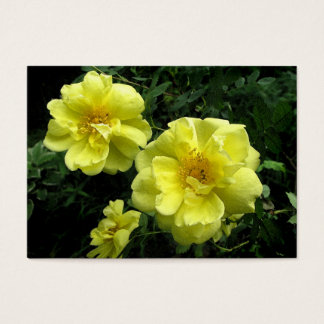 Yellow Roses ATC Business Card