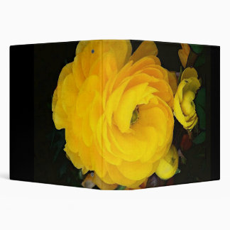 Yellow Roses Avery Binder
