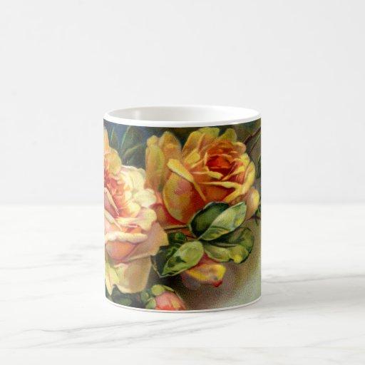 Yellow Roses Classic White Coffee Mug