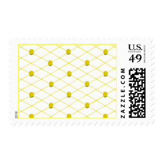 Yellow Roses Criss Cross Quilt Pattern Stamps