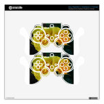 Yellow Roses Floating In Space Skins For PS3 Controllers