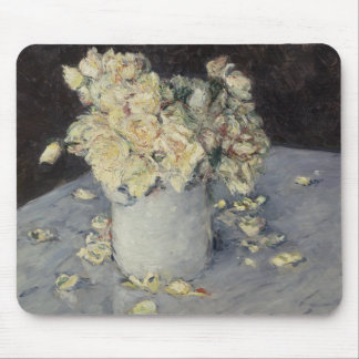 Yellow Roses in a Vase Mouse Pad