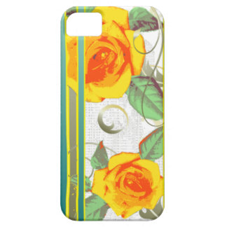 Yellow roses iPhone SE/5/5s case