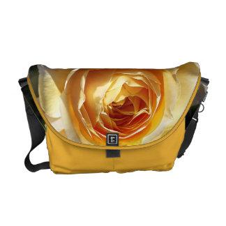 Yellow Roses Medium Messenger Bag