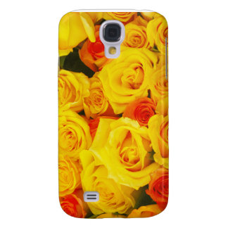 Yellow Roses Paris Galaxy S4 Cover