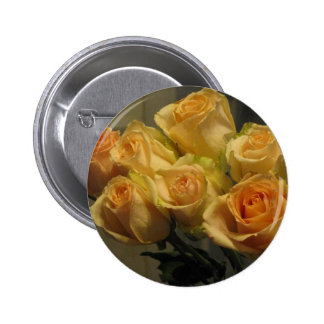 Yellow Roses Pinback Button