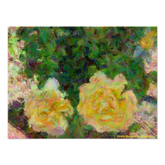 Yellow Roses Posters
