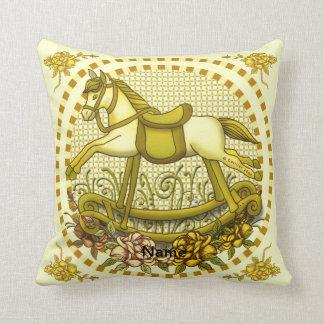 Yellow Roses Rocking Horse Pillows