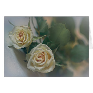 Yellow roses say it all.... card