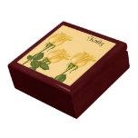 Yellow Roses Trinket Boxes