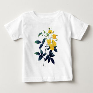 Yellow Rosier de Bancks by Pierre Joseph Redoute Baby T-Shirt