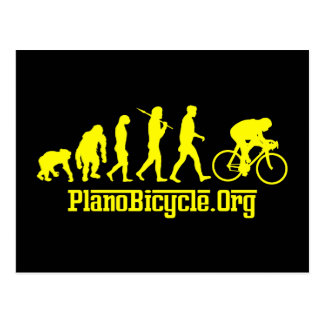 Yellow Rosso Yellow Jersey Cycling Evolution Postcard