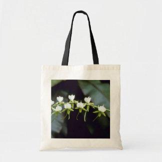 Yellow Rothschildiana (Vanda) flowers Budget Tote Bag